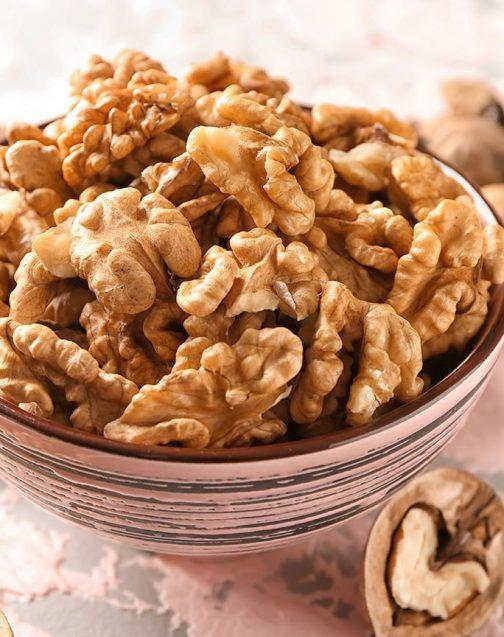 healthy pure organic walnuts